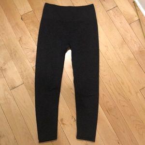 Fabletics dark grey leggings size Small